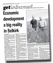 Selkirk Economic Development - Duane Nicol