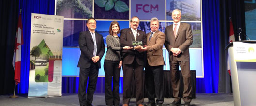 Okotoks Wins 2015 FCM Sustainability Award